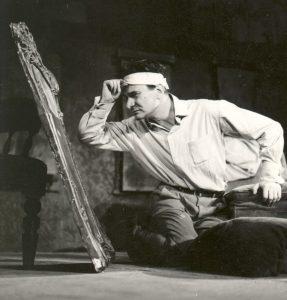 Radu Beligan in Rinocerii, regia Lucian Giurchescu