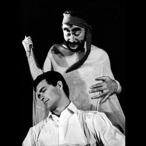 """""""Umbra"""" regia David Esrig, 1963, Iurie Darie, Amza Pellea"""
