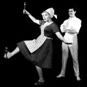 """""""Umbra"""" regia David Esrig, 1963, Vasilica Tastaman, Iurie Darie"""