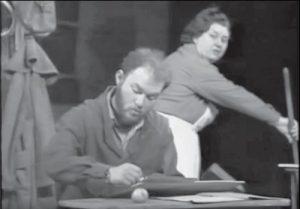 Tamara Buciuceanu și Mihai Constantin