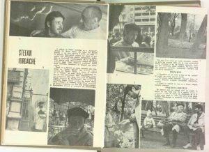 Fotoreportaj: Ştefan Iordache în Revista Teatrul nr. 5/1970, pp.28-31