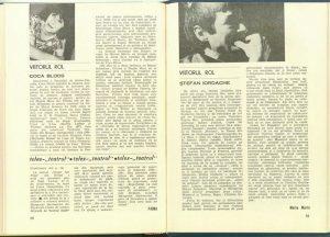 Maria Marin, Viitorul rol în Revista Teatrul nr. 4/1980, p. 81