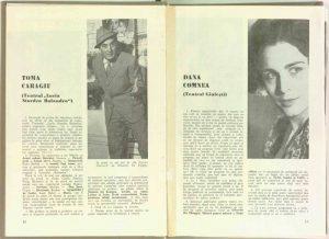 Anul 1970, Teatrul, nr. 9, CARAGIU, Toma (autor), Actorii despre repertoriu, pag. 14–14