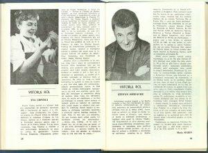 Maria Marin, Viitorul rol în Revista Teatrul nr. 9/1984, p. 39