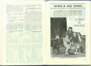 Constantin Fugașin, Atelier: Ştefan Iordache în Revista Teatrul nr. 12/1987