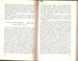 Cronică Andrei Strihan din Contururi scenice, 1975