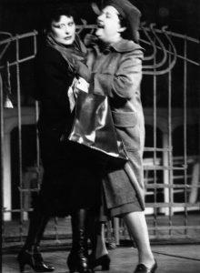 Dimineata pierduta, regia Catalina Buzoianu, arhiva Teatrului Bulandra 1986