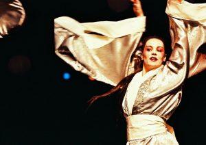Maia Morgenstern in Turandot, regia Catalina Buzoianu, arhiva Teatrului Bulandra