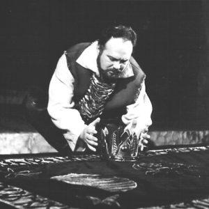 Petru Rares în Petru Rareș regia Sorana Coroamă Stanca 1967