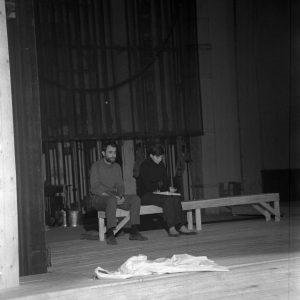 Regele Lear, Regie Radu Penciulescu, colecția TNB, autor Ion Miclea, arhiva TNB, 1970