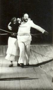 Regele Lear, regia Radu Penciulescu cu Valeria Seciu si George Constantin, colecția TNB, autor Ion Miclea, arhiva TNB, 1970