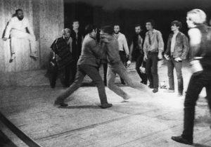 Regele Lear, regia Radu Penciulescu, scena de grup, colecția TNB, autor Ion Miclea, arhiva TNB, 1970