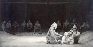 Regele Lear, regia Radu Penciulescu, colecția TNB, autor Ion Miclea, arhiva TNB, 1970
