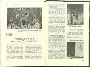 Eseu Mircea Deac, Realismul grotesc la teatrul mic