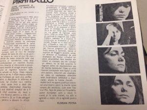 Sa-i imbracam pe cei goi, extras din caietul program arhiva teatrul mic, 1978