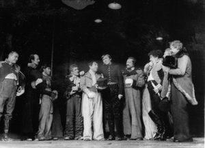 scena din Revizorul, arhiva Teatrului Bulandra