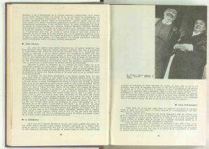 """La masa rotundă cu realizatorii spectacolului """"Umbra"""" de la Teatrul de Comedie (Vicu Mîndra, Ana Maria Narti, Niki Atanasiu, D. Esrig, Gheorghe Dinică, Sanda Toma, Amza Pellea, Nicolae Gărdescu, Radu Penciulescu, Paul Bortnovski, Dinu Cernescu etc. în revista Teatrul nr. 9/1963, pp.42-64"""