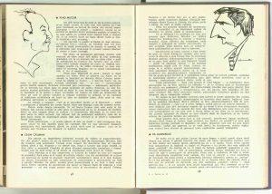 """Constanța Trifu, """"Noaptea e un sfetnic bun"""" de Al. Mirodan la masa rotundă (Constanţa Trifu, Vlad Mugur, Călin Căliman, Lia Marmeliuc, Ben Dumitrescu, Gheorghe Oancea, Sonia Filip, Ana Maria Narti, Mihai Lupu, Ştefan Ciubotăraşu, V. Ronea, Octavian Cotescu, Florin Tornea) în revista Teatrul nr. 12/1963, pp. 47-58"""