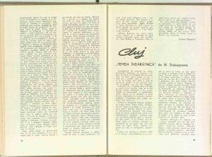 """Ileana Popovici, Prin teatrele din ţară: Constanţa - """"Vilegiatura"""" de Carlo Goldoni în revista Teatrul nr. 6/1969"""