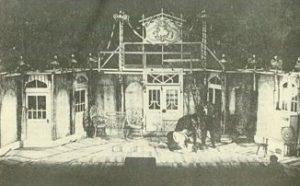 O noapte furtunoasa,regia Nicolae Scarlat, Teatrul de stat Tg. Mureş, 1972