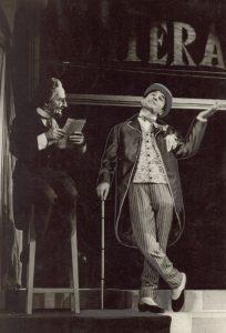 Spectacolul Procesul domnului Caragiale de Mircea Ștefănescu- Teatrul de Comedie Bucureşti, data premierei: 06.06.1962