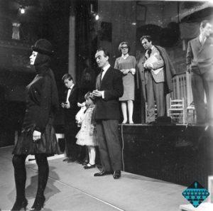 Șase personaje în căutarea unui autor, regia Anca Ovanez, Teatrul de Stat Târgu-Mureș, 1967