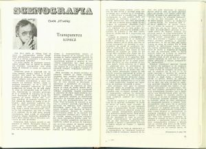 Transpunerea scenică (Nr. 6 - 1985)