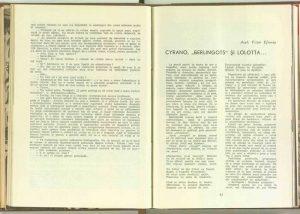 Sensul artei amatoare, Revista Teatrul nr. 1/1960