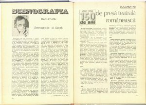Scenografie şi Kitsch (Nr. 1 - 1986)