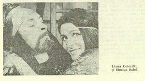 Medeea – imagine din spectacolul Medeea, Teatrul Municipal - Turda -09.10.1980, sursa foto: Revista Teatrul nr. 12/1980, pp. 53-54