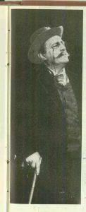 Jules Cazaban în rolul I. L. Caragiale din spectacolul Procesul domnului Caragiale de Mircea Ștefănescu- Teatrul de Comedie Bucureşti, data premierei: 06.06.1962