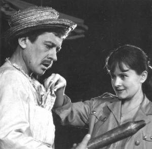1. Dispariţia lui Galy Gay, regia Lucian Giurchescu, 1969, Teatrul de Comedie Bucureşti (https://adevarul.ro/assets/adevarul.ro/MRImage/2017/11/24/5a1814215ab6550cb87c28f4/627x0.jpg);