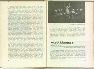 Mira Iosif, Spectacole ale tinerilor regizori: Aurel Manea - Filoctet de Sofocle la Teatrul Naţional Vasile Alecsandri din Iaşi în Revista Teatrul, Nr. 6/1969, pp. 27-29