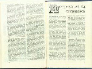 Impresii scenografice din teatrul chinez (III). Spectacole şi scenografie (Nr. 4 - 1986)