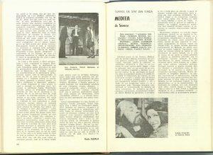"""Ion Cocora, Cronica dramatică: """"Medeea"""" de Seneca (Teatrul de Stat din Turda) în Revista Teatrul nr. 12/1980, pp. 53-54"""