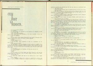 Cum a fost la şedinţă...pagina 103, pagina 104, Revista Teatrul nr. 11/1961