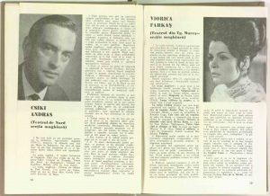 Csiki András, Actorii despre repertoriu în revista Teatrul nr. 9/1970, p. 18