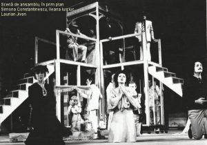 Astă seară se improvizează, Versiunea scenică şi regia artistică: Alexandru Colpacci, Scenografia: arh.Dan Jitianu