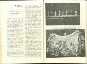 Evoluţia soluţiei scenografice (Nr. 7 - 1977)