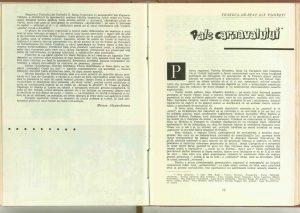 """Mircea Alexandrescu, """"Procesul domnului Caragiale"""" de Mircea Ştefănescu (Teatrul de comedie) în Revista teatrul nr. 7/1962"""