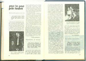 """Eva Catrinescu, Pas la pas prin teatre: Experiment şi eroare (""""Arca bunei speranţe""""de I. D. Sîrbu - Teatrul Naţional din Craiova) în Revista Teatrul Nr. 10/1989, pp. 46-47"""