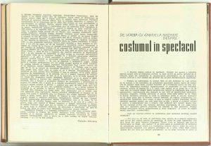 """O pledoarie contemporană pentru încredere în om (""""Oceanul"""" de Al. Stein, la Teatrul de Stat din Sibiu), Revista Teatrul nr. 4/1962"""