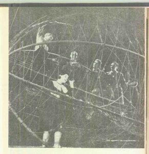 Sanda Toma în spectacolul Capul de răţoi de George Ciprian- Teatrul de Comedie Bucureşti, data premierei: 27.04.1966