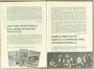 Doresc un teatru disponibil la dialectica vremii... (legătura la revistă: Nr. 8 - 1969)