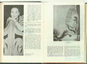 Alecu Popovici, De vorbă cu Stela Popescu în revista Teatrul Nr. 6/1972