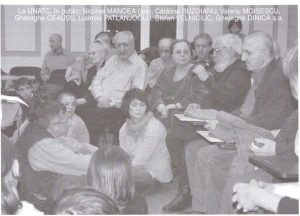 David Esrig, la UNATC; sursă foto: Ionuț Sociu, David Esrig şi acţiunea din spatele cuvintelor în revista Teatrul azi nr. 1,2/2007