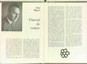 Punctul de vedere (legătura la revistă: Nr. 7 - 1970)