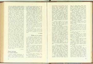 Dialog cu un cronicare, Revista Teatrul nr. 7 iulie/1957