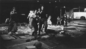 Antigona de Sofocle; Regia: Alexandru Tocilescu; Asistent regie: Oana Pellea; Scenograf decor: Dan Jitianu; Scenograf costume: Anca Pâslaru; Muzica: George Marcu; Teatrul Bulandra, Bucureşti; Spectacol nominalizat la Premiul pentru cel mai bun spectacol în anul 1994