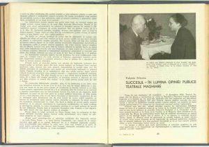 Formele comicului, Revista Teatrul nr. 4 aprilie/1958
